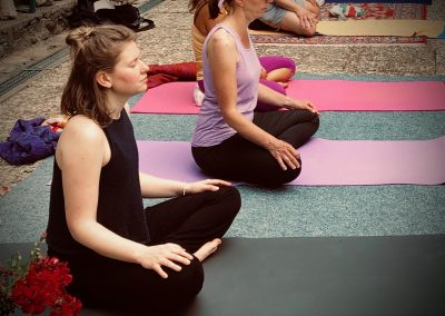 Yoga in the black forest